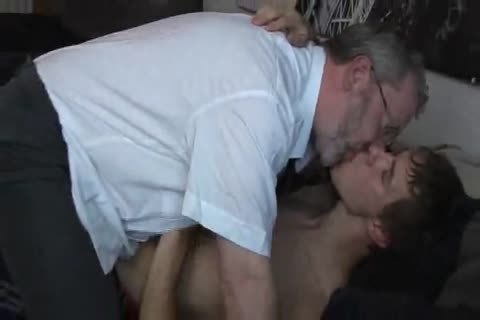 young boy enticed by mature daddy