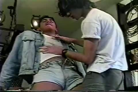 homosexual Brazilian teen sucks rod And Takes It In The asshole