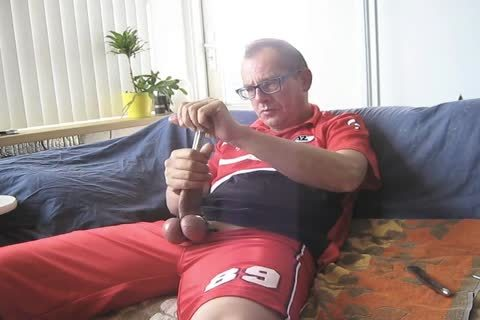 Sounding In My Sport Shirt (AZ Football). strong Urge To Stuff My penis With Several Sounds.