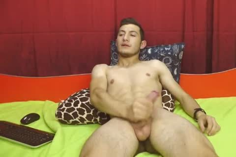(No3) Romanian sleazy homo boy Cums And Eats It On web camera, Very kinky juicy arsehole