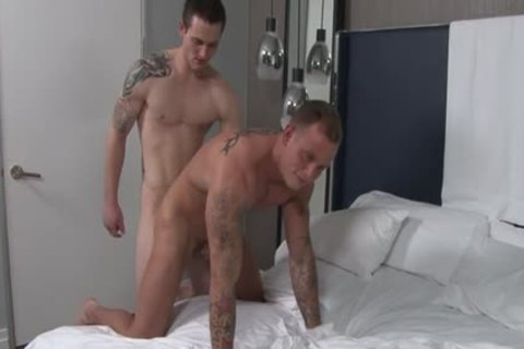 Muscle homosexual ass nail And cumshot