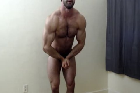 shaggy Chest Muscle Worship
