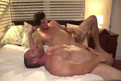 Torrid arsehole Sex With Hulking Muscled gays