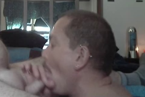 Eating Daddy's nasty cum