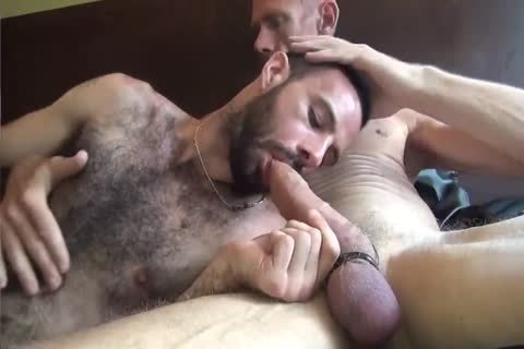 GUNNER & DAVID-GIFTED DADDY STUFFING hairy anal