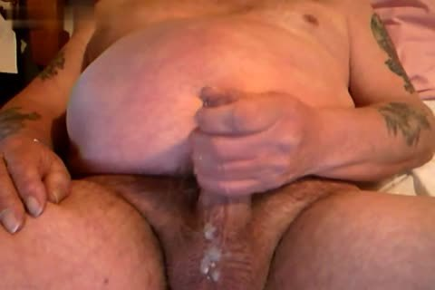Openup throbbing 10-Pounder Daddy Bear jerk off And sperm Homemade Collection