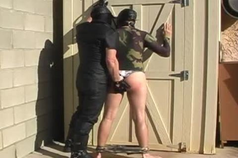 delicious spanking free homosexual porn video with irrumation